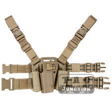 CQC Serpa left main Drop Leg Thigh Pistol étui for COLT 1911 m1911