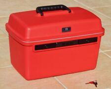 DELSEY Reise Kosmetikkoffer Beauty-Case Hartschale, rot, fast neu, mit Schloss