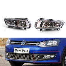 Car Fog Light for VW Volkswagen Polo 11-13 MK8 Pair 12 Good