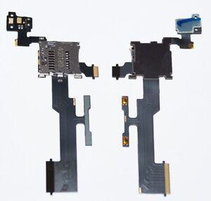 Original htc One M8 Micro SD Card Reader Page Buttons Flex
