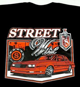 STREETWISE MONTE CARLO SS T-shirt Men's Black Tee NWT