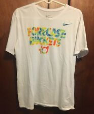 Forecast Buckets Nike Kd Shirt Kevin Durant Basketball Dr Fit Tee White Lg