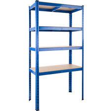 Scaffale Metallo Acciaio Officina Magazzino Garage pesanti 4 Ripiani 520 kg nuov