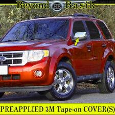 2008 2009 2010 2011 2012 FORD ESCAPE TRIPLE Chrome Mirror Cover Overlay Cap Trim