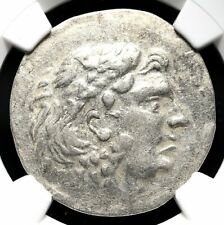 THRACE, Odessus. Type of Alexander the Great, 125-65 B.C. Tetradrachm, NGC Ch VF