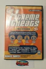 XTREME Cheat Codes Disc PAL EUR - Sony PS2 - FREE Postage