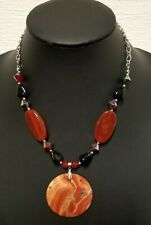 "Pendant Women Necklace.18 "" Authentic African Beaded Handmade Beaded"