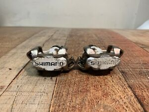 USED Shimano EPDM520W SPD Clipless Pedals - White