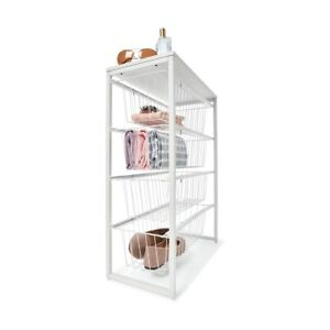 4 Wire Drawer Narrow Unit For Your Bedroom, Laundry, Kitchen Or Living Space F1