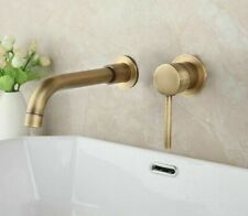 Bathtub Water Faucet Wall-mounted Mixer Tap Sink Washbasin Faucets Single Holder