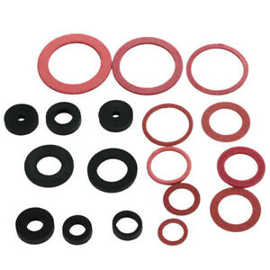 141x Car Hydraulic O-Ring Tap Gasket Seal Set Universal Made Of Rubber Fiber EVA
