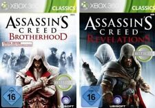 Xbox 360 figuras assassins creed Revelations + Brotherhood impecable