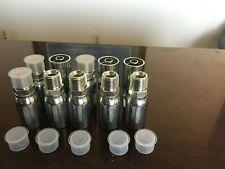 10 Pack Mp 6 6 Hydraulic Hose Crimp Fittings 38 Hose X 38 Mp Hy U Series