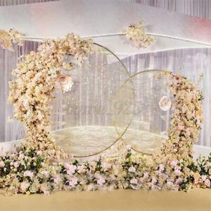 1/1.5/2/2.4M Flower Arch Outdoor Wedding Backdrop Background Balloon Stand Decor