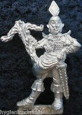 1985 DARK ELF 1101 08 C09 Guard Citadel Elven drow WARRIOR WARHAMMER ESERCITO AD&D