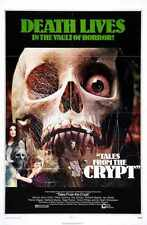 Tales from the crypt 1972 POSTER 01 A2 Box Toile imprimer