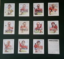 England World Cup Team Set Football Trading Cards