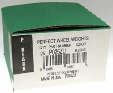 (25) .25 ounce 1/4 oz P Style Wheel weight, USA MADE Perfect Equipment