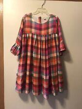 Gymboree 6 Plaid Print Dress
