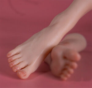 Realistic Silicon Simulation Lifesize Child Foot Model Display Prop 1PCS Toy