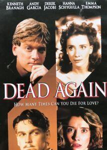 Dead Again DVD Kenneth Branagh Movie 1990s Murder Mystery Thriller | Rare