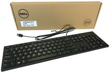 New Dell Genuine KB216-BK-US Multimedia USB Wired Keyboard Black