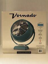 New Vornado Vintage 2-Speed Whole Room Air Circulator Fan in Green Metal Body