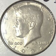 1982 D ~ USA ~ KENNEDY HALF DOLLAR