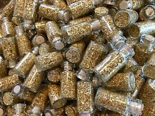 16 Large Bottles of Gold Leaf Flakes ..... Lowest price online !!