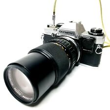 Olympus OM-10 Zuiko 1:4 75 - 150mm Lens Shutter Release Cable & Hoya Skylight