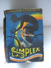 L. J. Simplex Tour De France Derailleur Gear Vintage BOX ONLY Art & Graphics