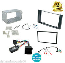 CTKVW03 Double Din Stereo Replacement Fitting Kit For VW Touareg (2003 - 2010)