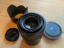 Sony ZEISS SEL55F18Z Sonnar T FE 55mm f/1.8 ZA Lens - Black