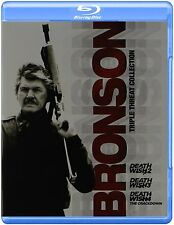 DEATH WISH 2 3 & 4 (Bronson Triple Pack)  Blu Ray - Sealed Region free for UK