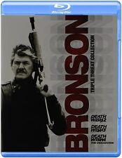 DEATH WISH 2 3 & 4 (Bronson Triple Pack)  Blu Ray - Sealed Region free for UK