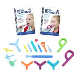 ARK's Oral Motor Workout Kit for Speech Therapy Feeding Drinking Sensory Z-Vibe