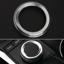 Silver Accessories GPS Button Switch Cover Trim for Lexus CT200h RX270 ES250