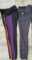 2 Avia Women's Active Performance Camo /Flex Print Leggings Sz M 8-10 (3)