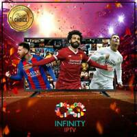 """INFINITY IPTV SUBSCRIPTION+23000 CHANNELS &VOD Best Choice UNLIMITED """"24 hours"""""""