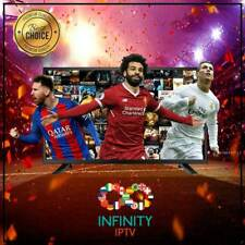 "INFINITY IPTV SUBSCRIPTION+16000 CHANNELS &VOD Best Choice UNLIMITED  ""24 Hours"""