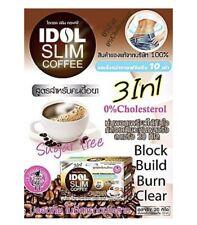 Idol Slim Coffee Drink Diet Lost Weight Loss - 1 box 10 sachets