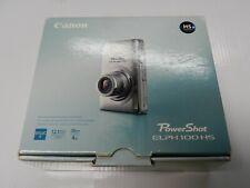 New Open Box - Canon PowerShot ELPH 100 HS 12.1MP Camera - SILVER - 013803132007