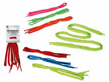 Shoe Laces - 6 Assorted Colours - Football Trainer Boot Laces