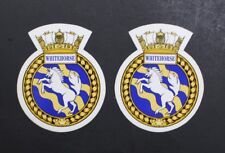 Canadian Navy HMCS Whitehorse Stickers Set Of 2 Circa 1998
