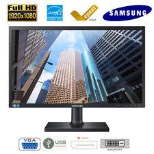 Samsung S24C650 Full HD LED Monitor VGA Display Port DVI High Adjustable