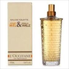 L'Occitane Honey & Vanilla Eau De Toilette 100ml, 3.4oz NEW IN BOX