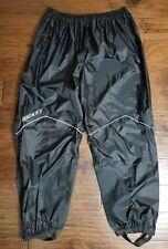 Men's Joe Rocket RS-2 Black Rain Pants Sz XXL Inseam 32.5 Euc