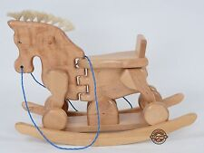 "SALE  Beautiful Rock and Ride-on Rocking Horse ""Rock & Ride HORSY"" MJMARK !!!!!!"