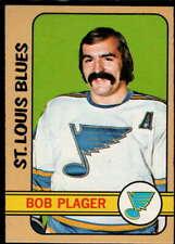 Bob Plager 1972-73 Topps #96 Blues
