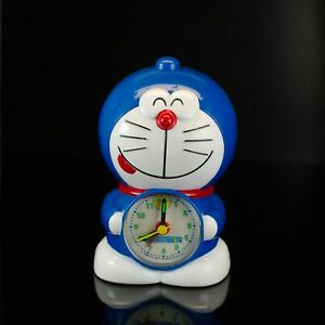 Vintage Doraemon Talking Musical Alarm Clock for parts sold as is